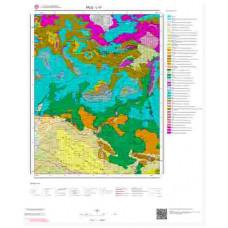 L 47 Paftası 1/100.000 ölçekli Jeoloji Haritası