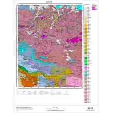 L 48 Paftası 1/100.000 ölçekli Jeoloji Haritası
