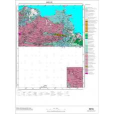 L 49 Paftası 1/100.000 ölçekli Jeoloji Haritası