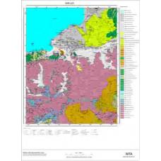L 50 Paftası 1/100.000 ölçekli Jeoloji Haritası
