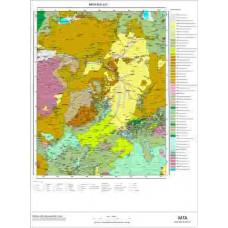 L 51 Paftası 1/100.000 ölçekli Jeoloji Haritası