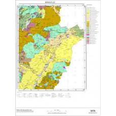 L52 Paftası 1/100.000 Ölçekli Vektör Jeoloji Haritası