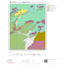 L52a1 Paftası 1/25.000 Ölçekli Vektör Jeoloji Haritası