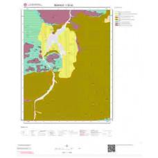 L52a2 Paftası 1/25.000 Ölçekli Vektör Jeoloji Haritası