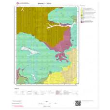 L52a3 Paftası 1/25.000 Ölçekli Vektör Jeoloji Haritası