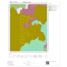 L52a4 Paftası 1/25.000 Ölçekli Vektör Jeoloji Haritası
