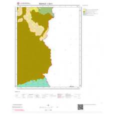 L52b1 Paftası 1/25.000 Ölçekli Vektör Jeoloji Haritası