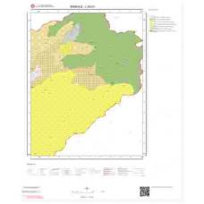 L52b3 Paftası 1/25.000 Ölçekli Vektör Jeoloji Haritası