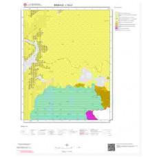 L52c1 Paftası 1/25.000 Ölçekli Vektör Jeoloji Haritası