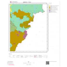 L52c4 Paftası 1/25.000 Ölçekli Vektör Jeoloji Haritası