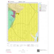 L52d4 Paftası 1/25.000 Ölçekli Vektör Jeoloji Haritası