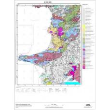 M 18 Paftası 1/100.000 ölçekli Jeoloji Haritası