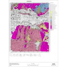 M 19 Paftası 1/100.000 ölçekli Jeoloji Haritası