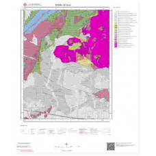 M19a1 Paftası 1/25.000 Ölçekli Vektör Jeoloji Haritası