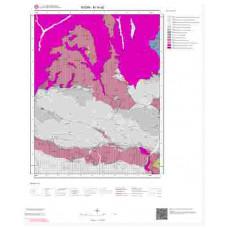 M19a2 Paftası 1/25.000 Ölçekli Vektör Jeoloji Haritası