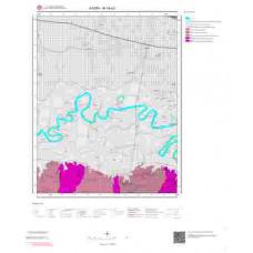 M19a3 Paftası 1/25.000 Ölçekli Vektör Jeoloji Haritası