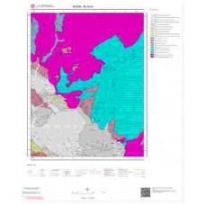 M19b1 Paftası 1/25.000 Ölçekli Vektör Jeoloji Haritası