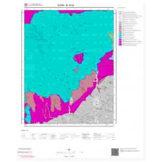 M19b2 Paftası 1/25.000 Ölçekli Vektör Jeoloji Haritası