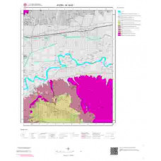 M19b3 Paftası 1/25.000 Ölçekli Vektör Jeoloji Haritası