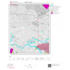 M19b4 Paftası 1/25.000 Ölçekli Vektör Jeoloji Haritası