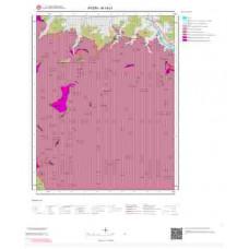 M19c1 Paftası 1/25.000 Ölçekli Vektör Jeoloji Haritası