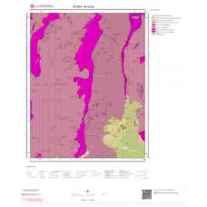 M19d2 Paftası 1/25.000 Ölçekli Vektör Jeoloji Haritası