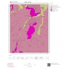 M19d3 Paftası 1/25.000 Ölçekli Vektör Jeoloji Haritası