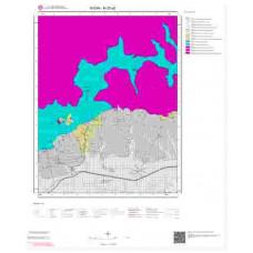 M20a2 Paftası 1/25.000 Ölçekli Vektör Jeoloji Haritası