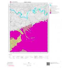 M20a3 Paftası 1/25.000 Ölçekli Vektör Jeoloji Haritası
