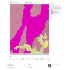 M20c4 Paftası 1/25.000 Ölçekli Vektör Jeoloji Haritası