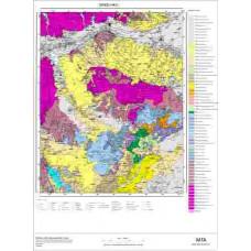 M 21 Paftası 1/100.000 ölçekli Jeoloji Haritası