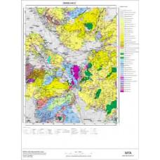 M 22 Paftası 1/100.000 ölçekli Jeoloji Haritası