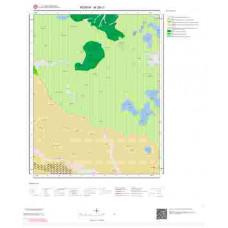 M28c1 Paftası 1/25.000 Ölçekli Vektör Jeoloji Haritası