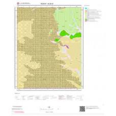 M28d2 Paftası 1/25.000 Ölçekli Vektör Jeoloji Haritası