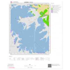 M30a1 Paftası 1/25.000 Ölçekli Vektör Jeoloji Haritası
