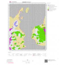 M30c4 Paftası 1/25.000 Ölçekli Vektör Jeoloji Haritası