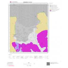 M30d3 Paftası 1/25.000 Ölçekli Vektör Jeoloji Haritası