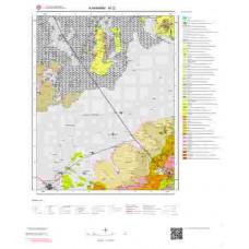 M32 Paftası 1/100.000 Ölçekli Vektör Jeoloji Haritası