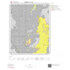 M32a2 Paftası 1/25.000 Ölçekli Vektör Jeoloji Haritası