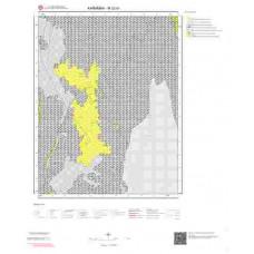 M32b1 Paftası 1/25.000 Ölçekli Vektör Jeoloji Haritası