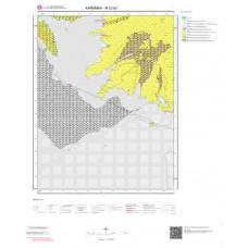 M32b2 Paftası 1/25.000 Ölçekli Vektör Jeoloji Haritası