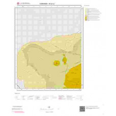 M32c2 Paftası 1/25.000 Ölçekli Vektör Jeoloji Haritası