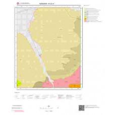 M32c4 Paftası 1/25.000 Ölçekli Vektör Jeoloji Haritası