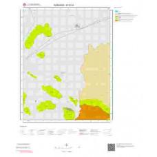 M32d3 Paftası 1/25.000 Ölçekli Vektör Jeoloji Haritası
