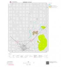 M32d4 Paftası 1/25.000 Ölçekli Vektör Jeoloji Haritası
