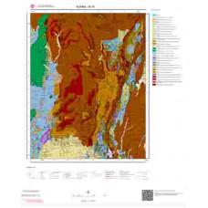 M 35 Paftası 1/100.000 ölçekli Jeoloji Haritası