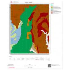 M 35-a1 Paftası 1/25.000 ölçekli Jeoloji Haritası