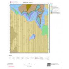 M 36-a4 Paftası 1/25.000 ölçekli Jeoloji Haritası