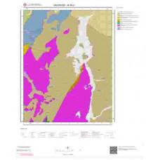 M 36-c1 Paftası 1/25.000 ölçekli Jeoloji Haritası