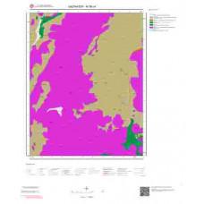 M36c4 Paftası 1/25.000 Ölçekli Vektör Jeoloji Haritası